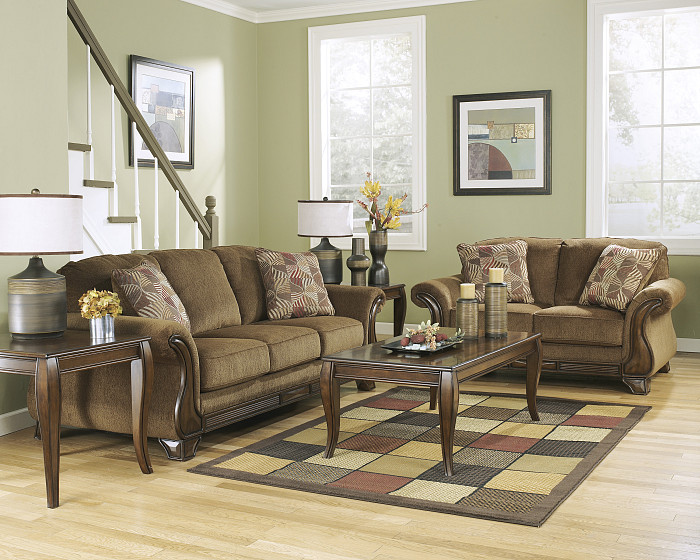Ashley Furniture Mocha Montgomery Sofa Ace Rent To Own