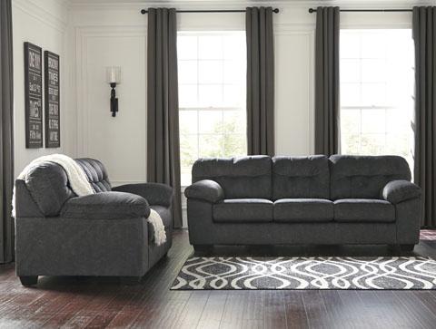 Ashley Furniture Granite Accrington Sofa Ace Rent To Own
