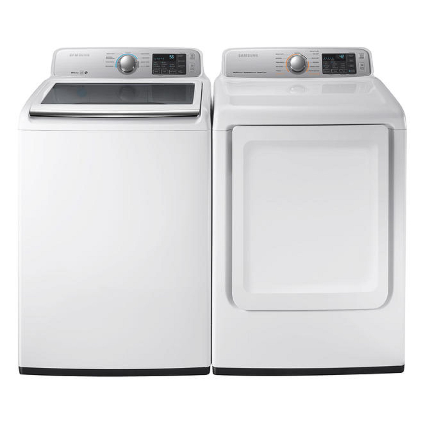 Rent To Own Washer And Dryer >> Ace Rent To Own Samsung White Samsung Washer Dryer Pair